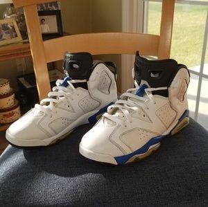 Jordan 6 Blue